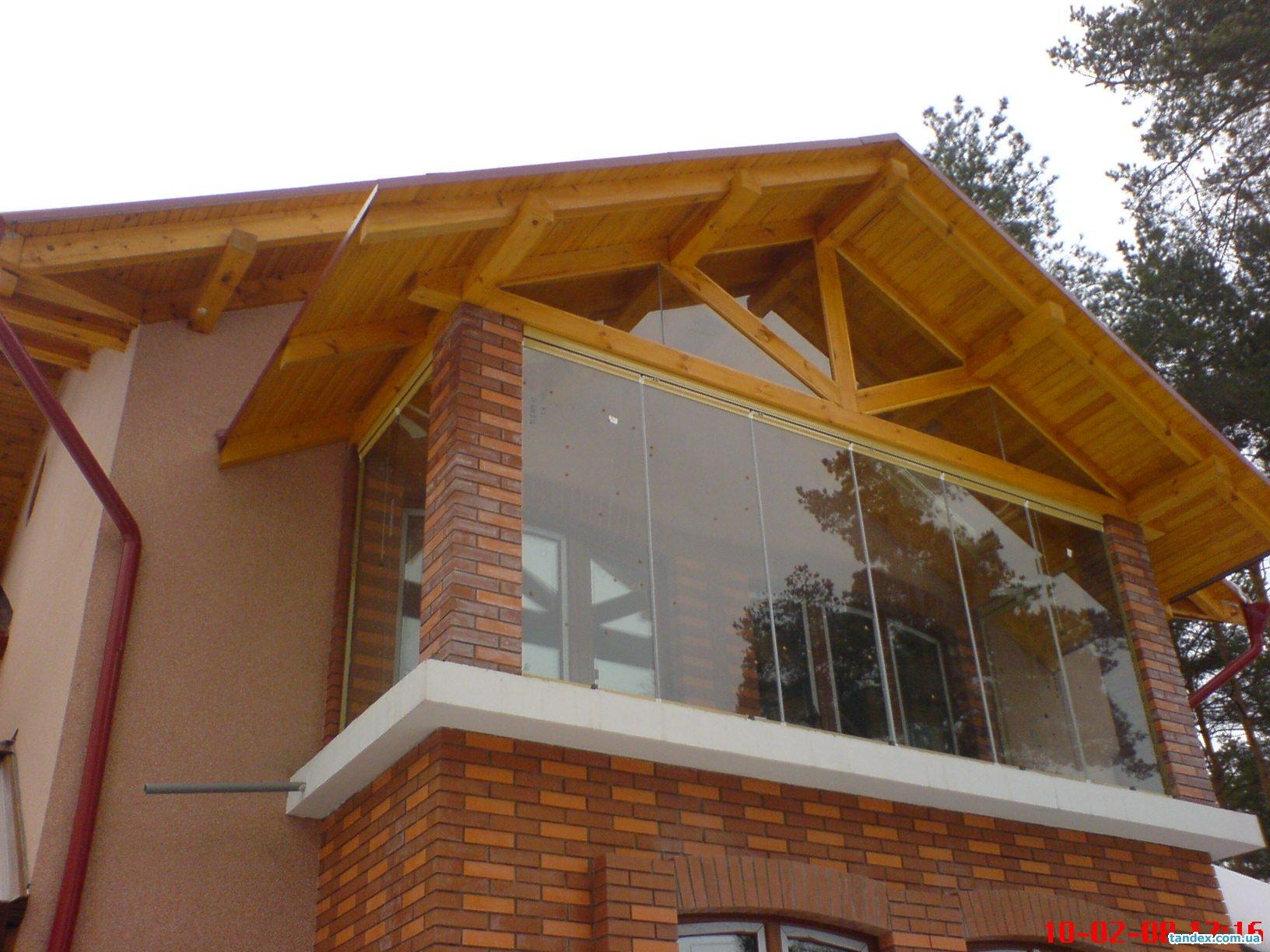 Как сделать балкон в частном доме деревянном.